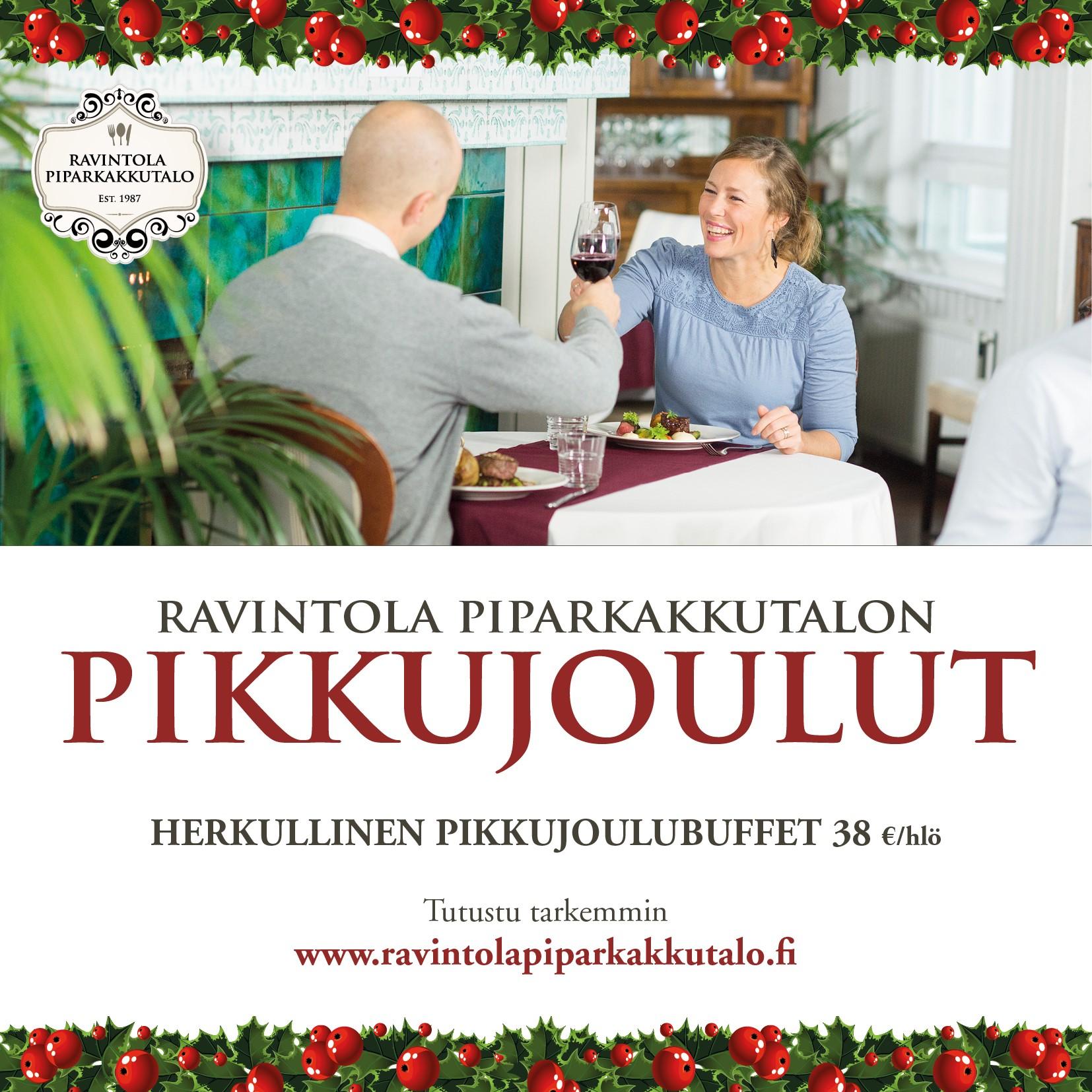 Pikkujoulubuffet 16.11. alkaen - Ravintola Piparkakkutalo